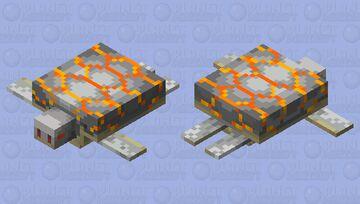 Magma Turtle Minecraft Mob Skin