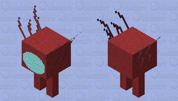 Amogus-strider Minecraft Mob Skin
