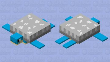 pokemon: lapras Minecraft Mob Skin