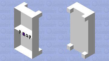 CAGA NESSA CAMA Minecraft Mob Skin