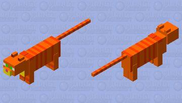 Garfield 2004 movie Minecraft Mob Skin