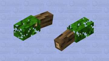 Mini Tree   With Actually Texture! Minecraft Mob Skin
