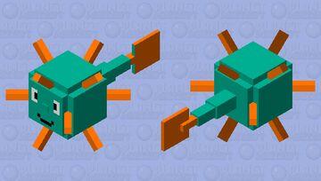 Friendly Guardian Minecraft Mob Skin