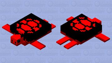 CURSED TURTLE Minecraft Mob Skin