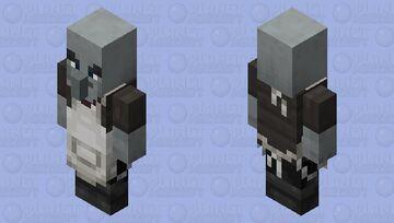 Vindicator re-texturing / Chef Minecraft Mob Skin