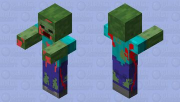 Zombie Minecraft Mob Skin