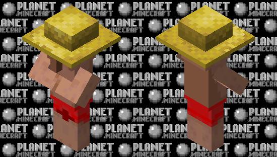Villager on vacation Minecraft Skin