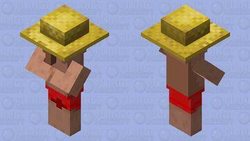 Villager on vacation Minecraft Mob Skin