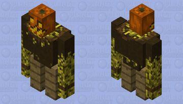 Pumpkin Golem (Scarecrow) Minecraft Mob Skin