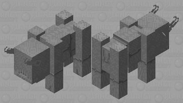 Greater Gorgon Minecraft Mob Skin