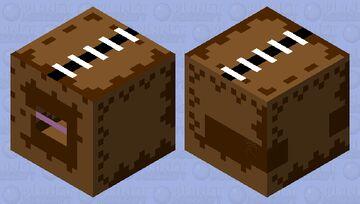 shulker inside of a cardboard box Minecraft Mob Skin