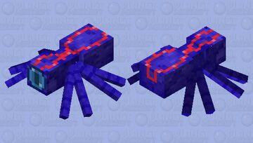 Knight Spider Minecraft Mob Skin