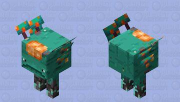 Warped Strider Minecraft Mob Skin