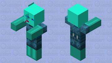 Cold Piglin Nish Minecraft Mob Skin