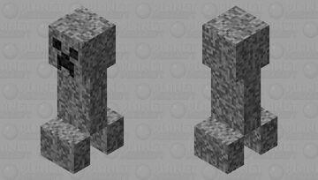 Dust Creeper Minecraft Mob Skin