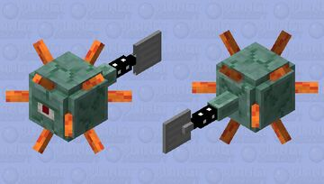 Spongebob Prismarinepants Minecraft Mob Skin