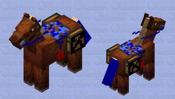 Wired horse Minecraft Mob Skin