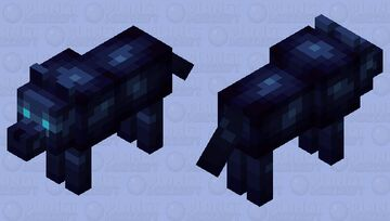 Magical Wolf - Mystery Mobs Minecraft Mob Skin