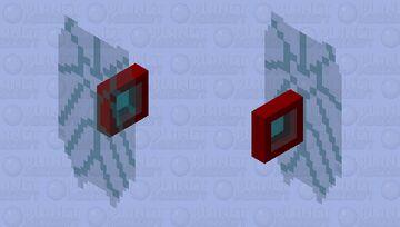 Iron Man's Endgame Shield Minecraft Mob Skin