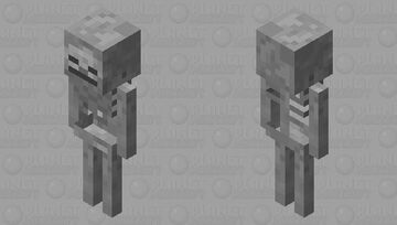 old skeleton thingy Minecraft Mob Skin