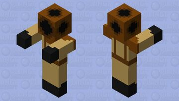 Diver Drowned Zombie Minecraft Mob Skin