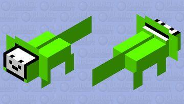 DREAM Axolotl Minecraft Mob Skin