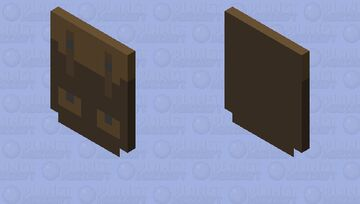 Simple Backpack Cape Minecraft Mob Skin