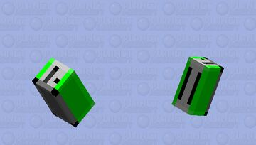 Birb Toaster [Green] Minecraft Mob Skin