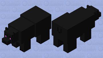 Ender Polar Bear Minecraft Mob Skin