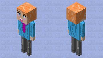 Senpai (Friday night funkin) Minecraft Mob Skin