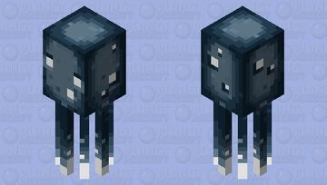 The new squid Minecraft Mob Skin