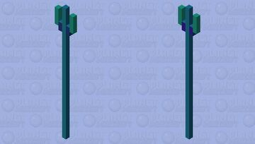 Weapon of the sea Minecraft Mob Skin