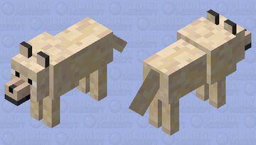 -tan doggo- Minecraft Mob Skin