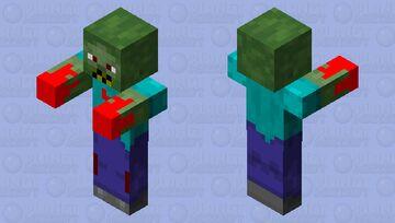 Better zombie Minecraft Mob Skin