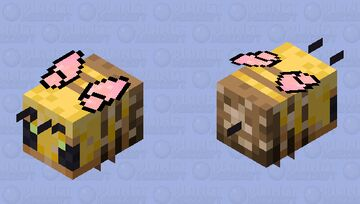 Soft butterfly bee but nectar Minecraft Mob Skin