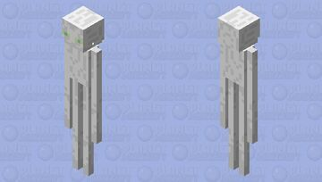 (CREEPYPASTA) Inverted Enderman (From the video from YouTube) Minecraft Mob Skin