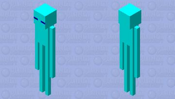 The enderman with frostbite Minecraft Mob Skin