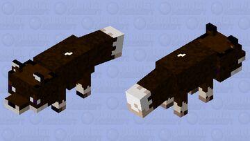 Black Fox Minecraft Mob Skin