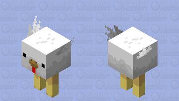 Chicken Strider Minecraft Mob Skin