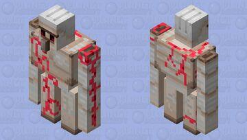 Crimson Golem Minecraft Mob Skin