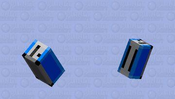Birb Toaster [Blue] Minecraft Mob Skin