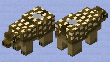 Ankylosaur Minecraft Mob Skin