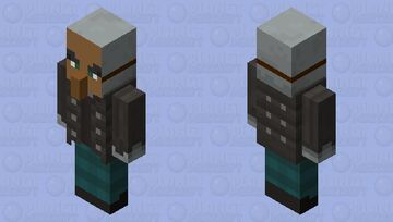 Bad villager spy Minecraft Mob Skin