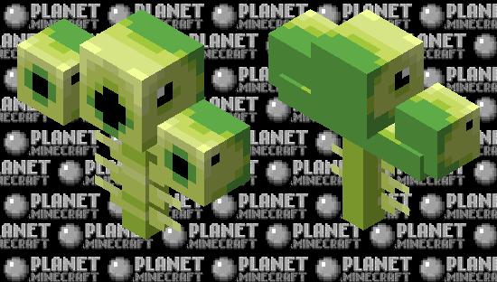 The Threepeater (Cursed) (Look Description) Minecraft Skin