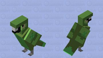 Swamp Parrot(Biome Swap) Minecraft Mob Skin