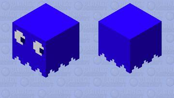 Pacman Ghost [Blue] Minecraft Mob Skin
