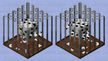Hedwig in a cage Minecraft Mob Skin