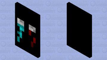cape black Minecraft Mob Skin
