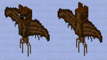 Halloween Bat Minecraft Mob Skin
