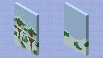 Snowy Day Minecraft Mob Skin